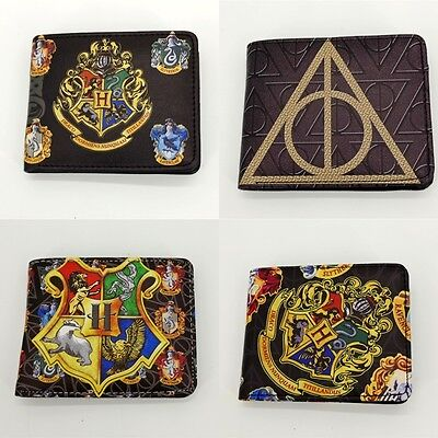 New Harry Potter Hogwarts Badge Wallet Card Package Christmas Collectibles Gift