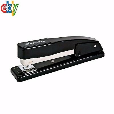 Swingline Heavy Duty Desk Stapler, Commercial, 20 Sheet Capacity, Black (44401)