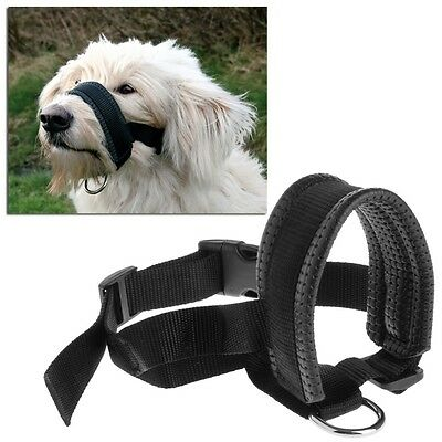 Dog Pet Padded Head Collar Gentle Halter Leash Leader Stop Pulling Training Tool