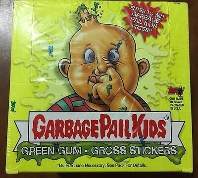 2003 Topps Garbage Pail Kids Ans 1 Sealed Box 24 Pks Silver Glossy 1St Series