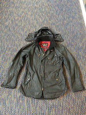 "Barbour x Tokito Black ""Motorbike Shirt"" Jacket Size Large"