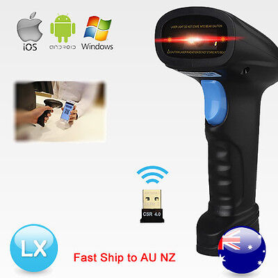 Wireless Bluetooth 2D QR Code Mobile Phone Screen Imager Barcode Scanner Reader