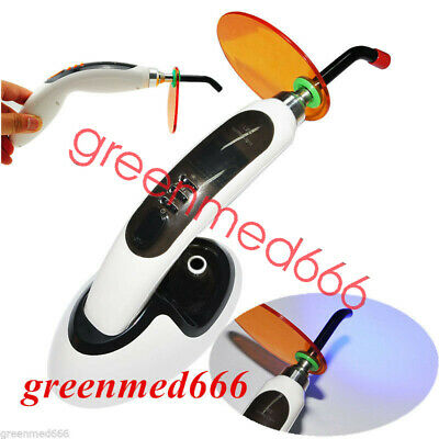 2000MW 10W Wireless Cordless LED Dental Curing Light Lamp+Whitening FUNCTION HOT