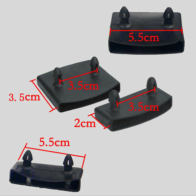 2 Replacement Bed Slat Plastic Centre Caps and End Caps Holders