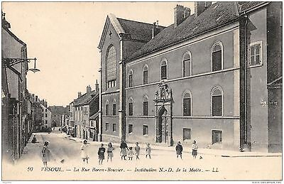 70-Vesoul-Rue Boron Bouvier-Institution Nd De La Motte-N°R2046-G/0121