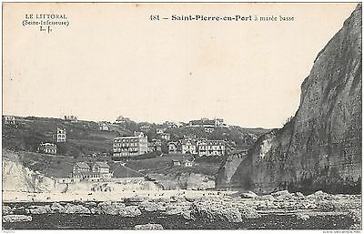 76-Saint Pierre En Port-A Maree Basse-N°R2047-H/0233