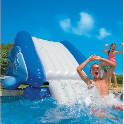 New Genuine Intex Giant Water Slide Inflatable Kids Swimming Pool Toy 3.4m long