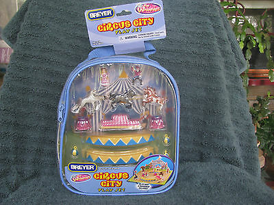 Breyer #300130 Mini Whinnies MW Circus City Backpack NRFP Made In 2009 Only!