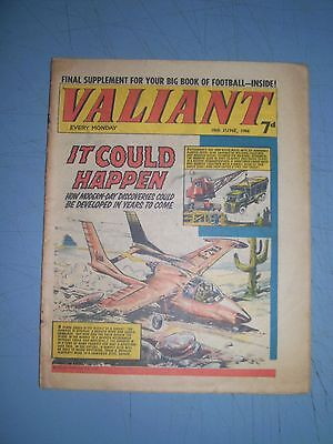 Valiant issue dated June 18 1966 with football supplement