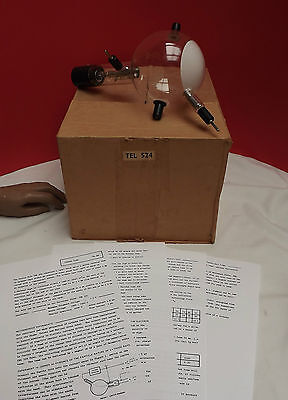 TELTRON ((PERRIN TUBE)) Working (Atomic Physics) + Instructions (Boxed)