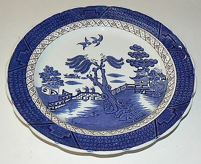 """Lovely BOOTHS 'Real Old Willow' 10.35"""" Dinner Plate"""