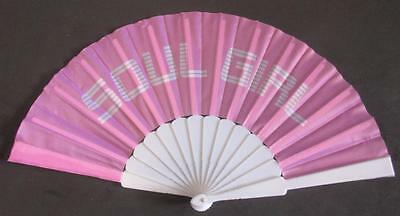 Northern Soul Hand Fan - Soul Girl - Top Quality Fabric - Great For Weekenders