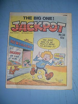 Jackpot issue 33 dated December 15 1979