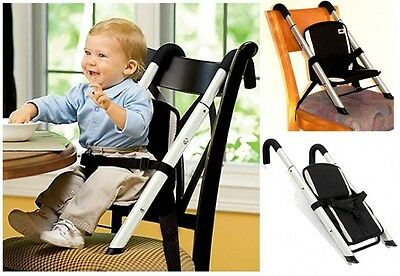 Baby Feeding Seat Portable Adjustable Folding Travel Safety Booster High Chair