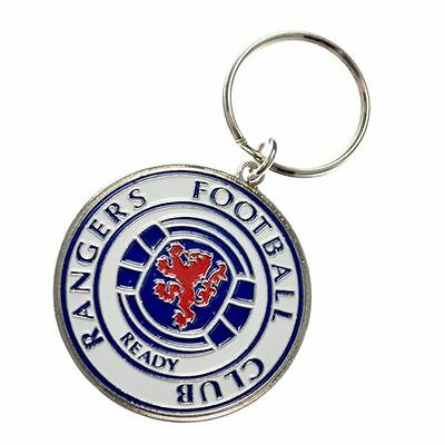 New Official Rangers Football Club Key Ring on a Chain
