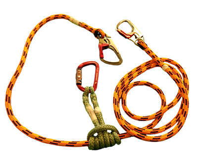 2 in 1 Blaze Flipline Arborist Lanyard Kit for Tree Climbing, Arborist,