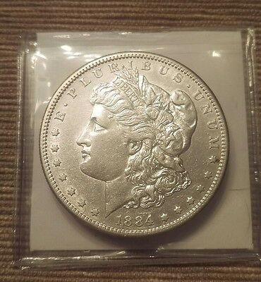 1884-S Morgan Silver Dollar, Tough Choice AU++/Unc Better Date, ** Free S/H!