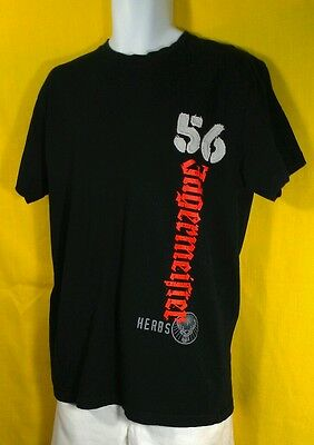 Jaegermeister  T-SHIRT ~ Black 100% Cotton Tagless Tee ~ Large ~ GUC not perfect