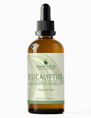 Eucalyptus Essential Oil 100% Pure Organic Therapeutic Undiluted Steam Distilled