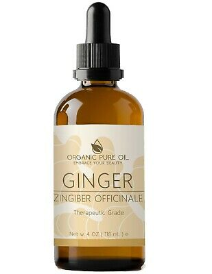 Ginger Essential Oil 100% Pure Therapeutic Grade Undiluted Steam Distilled