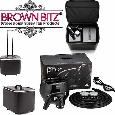 Pro V spray tan machine and carry case by Tanning essentials