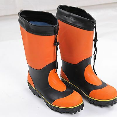 Outdoor Anti-skid Mud Waterproof Rain Boots Fishing Hiking Shoes Rubber New