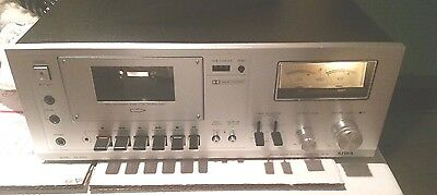 Aiwa AD-6300 Stereo Cassette Deck For Parts Or Repair Only .