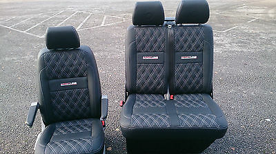 vw transporter t5 / T6 leather seats