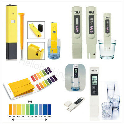 Digital PH Meter + LCD TDS Water Purity PPM Filter Hydroponic Pool Tester Pen hb