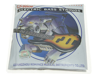 4 String Electric Bass Strings Bass Guitar Strings Nickel Alloy Wound .045-.105