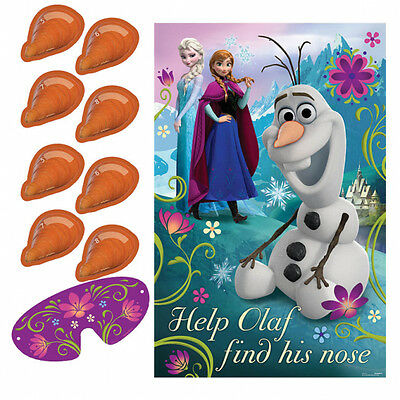 Disney Frozen Olaf Pin The Nose Party Game by AMSCAN