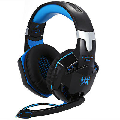 EACH G2000 Gaming Headset Stereo Sound Headphone with Microphone for PC Latop