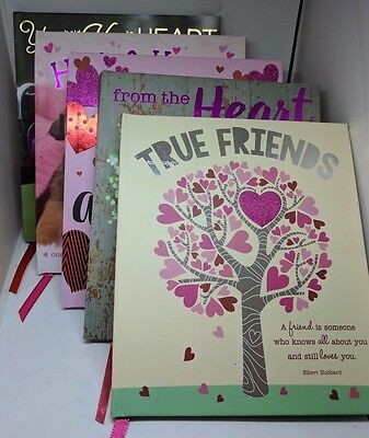 Inspirational Book of Hugs & Kisses True Friends From the Heart You are Amazing