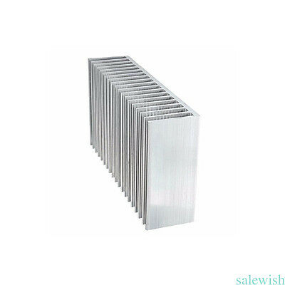 60*150*25mm Aluminum Heatsink Heat Sink Cooling for Led High Power Amplifier Hot