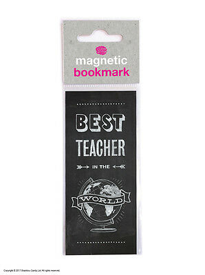 Bookmark Magnetic Teacher Gift Present Funny Humour Novelty Cheap School Reading