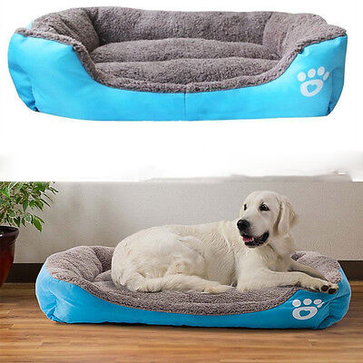 Pet Dog Cat Bed Puppy Cushion House Soft Warm Kennel Mat Blanket Pad Washable