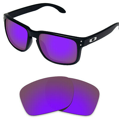 Tintart Polarized Replacement Lenses for-Oakley Holbrook Plum Purple (STD)