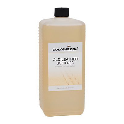 COLOURLOCK Leather Softener Oil to restore hard leather makes it soft and supple