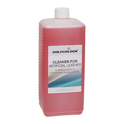 COLOURLOCK Faux Leather Cleaner to clean artificial, synthetic leather, vinyl
