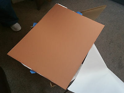 "4 Double Sided Copper Clad Laminate PCB Circuit Board 18"" X 24"""