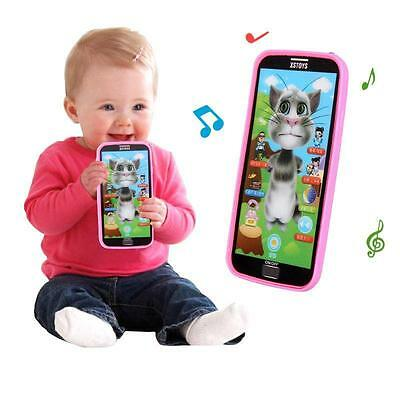 Kids Learning Study Music Mobile Phone Touch Screen Child Educational Toys BT