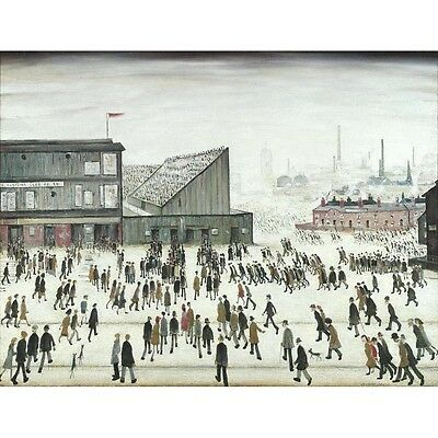 Going to the Match - L S Lowry Print