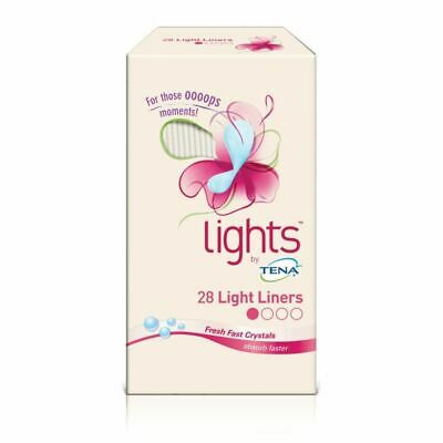 Lights by Tena 28 Liner pads 1 2 3 6 12 Packs
