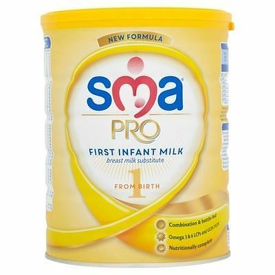 SMA Pro First Infant Milk 1 From Birth 800g 1 2 3 6 12 Packs