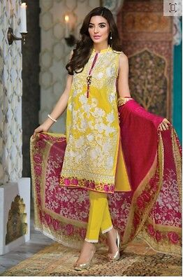 Khaadi pakistani designer 3 pc suit , original stitched