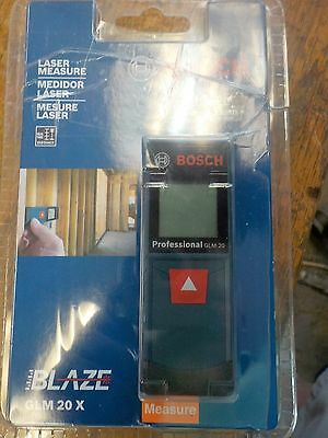 New Bosch GLM 20X Compact Laser Measure 65' Distance Meter FREE SHIPPING
