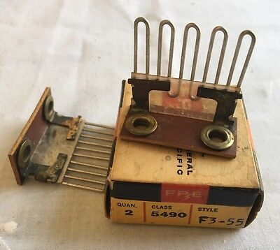 FPE Federal Pacific 5490 F3-55 Heater Elements  (Lot of 2) NEW OLD STOCK VINTAGE