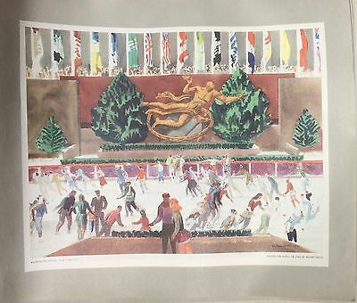 Millard Sheets United Airlines 1952 Calendar 11 TOTAL Lithograph prints