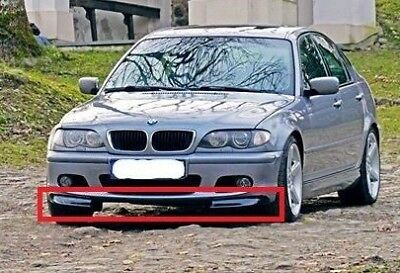 BMW E46 Front Mpack bumper Splitters add-on's CSL Look Coupe/Cabrio/Sedan/Tourin