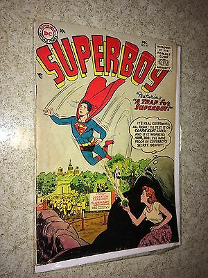 Small Superboy collection 7 issues with ten cent covers.  1956 to 1961. all G-VG